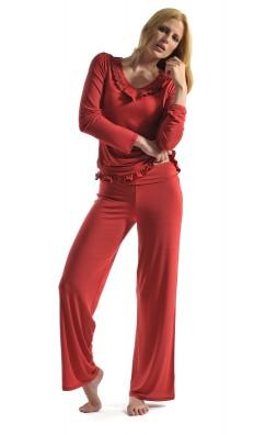 ana-schlafanzug-rot-mit-volants